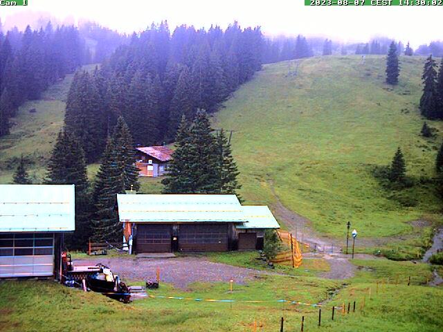 Webcam Skigebiet Grasgehren - Bolgengrat Allg�u