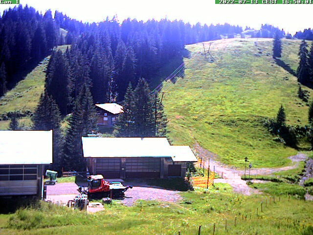 Webcam Skigebied Grasgehren - Bolgengrat Allgäuer Alpen